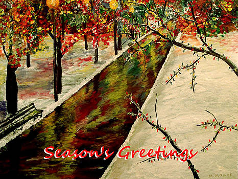 Season's Greetings  by Mark Moore