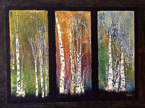 Seasons of Birch by Cindy Johnston