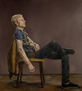 Seated Man by Jolante Hesse