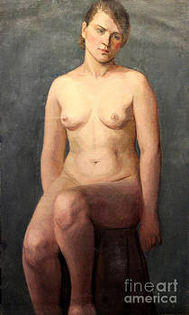 Art By Tolpo Collection - Seated Nude 1926