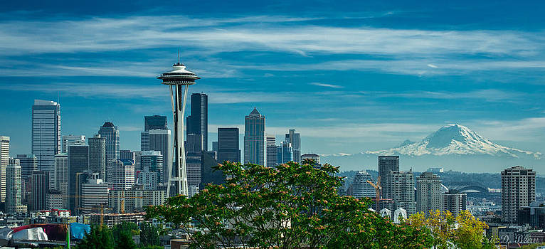Seattle by Day by Eric Bean