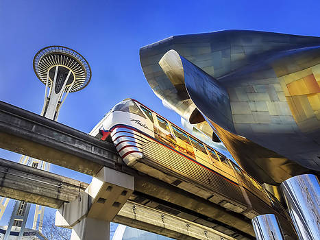 Seattle Center by Kyle Wasielewski