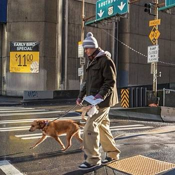 #seattle #dog #man by Ron Greer
