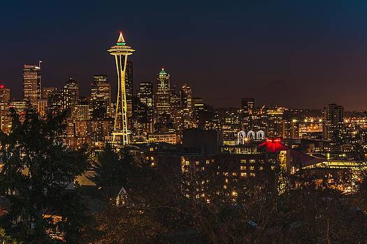 Gene Garnace - Seattle Night Lights