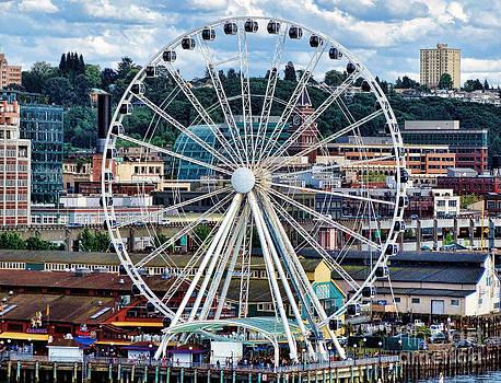 Gena Weiser - Seattle Port Ferris Wheel