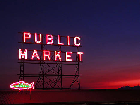 Seattle Public Market  by Sonia S