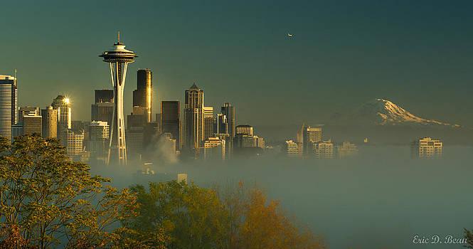 Seattle Rising II by Eric Bean