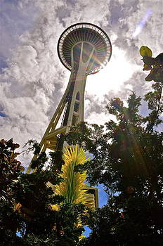 Seattle Sky by Mark Lemon
