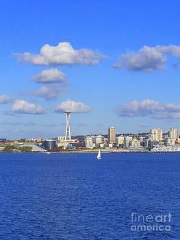 Vicki Maheu - Seattle Skyline 1
