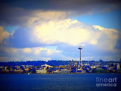 Vicki Maheu - Seattle Skyline 3