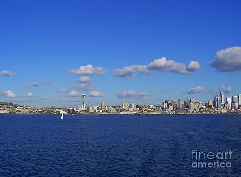Vicki Maheu - Seattle Skyline 4