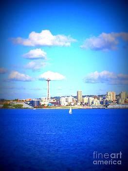 Vicki Maheu - Seattle Skyline 5
