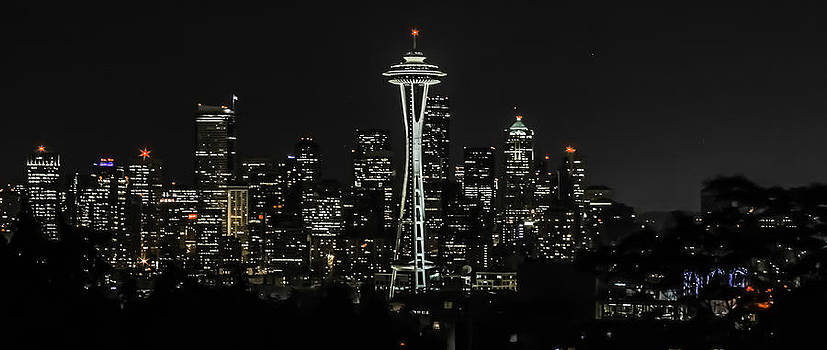 Seattle Skyline from Kerry Park by CarolLMiller Photography