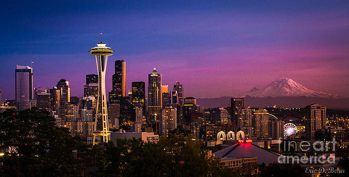 Seattle Sunset by Eric Bean