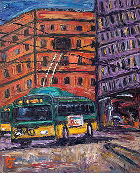 Allen Forrest - Seattle Transit Buses and Buildings