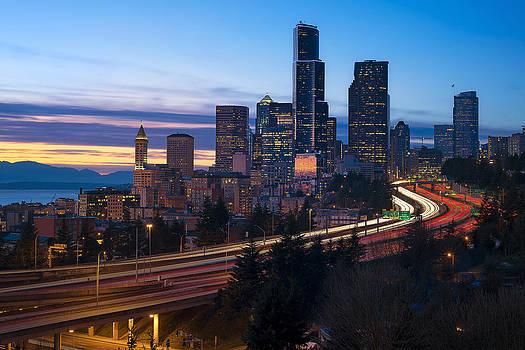 Seattle Twilights by Ryan Manuel