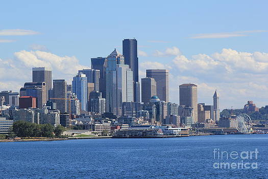 Seattle Washington by Susan Meade