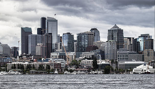 Seattle's Skyline by Jeff Swanson