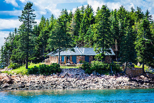 Secluded Island Home by Jason Brow