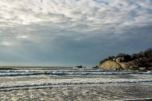 Second Beach Winter Morning 2 by Nancy De Flon