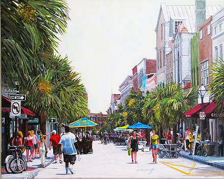 Second Sunday on King St. by Thomas Michael Meddaugh