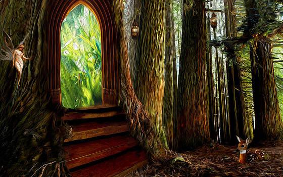 Secrets of the forest by Yvonne Pfeifer