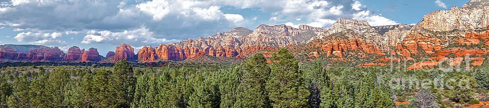 Gregory Dyer - Sedona Arizona Panorama - 02