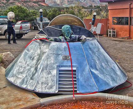 Gregory Dyer - Sedona Arizona UFO landing