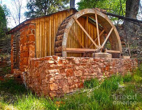 Gregory Dyer - Sedona Arizona Water Wheel