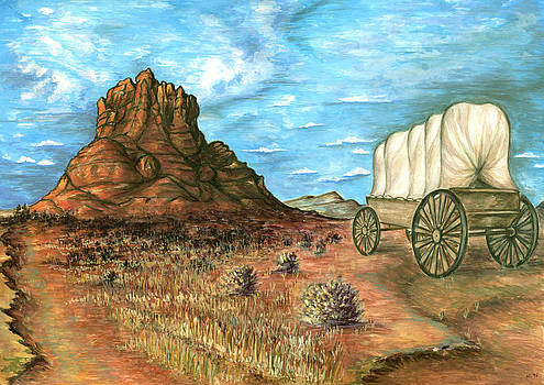 Sedona Arizona - Western Art by Art America Gallery Peter Potter