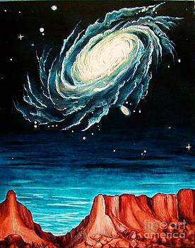 Sedona Galaxy by Diana Dearen