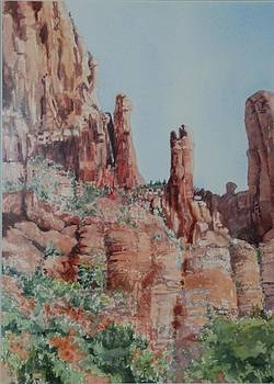 Sedona  by Marilyn  Clement
