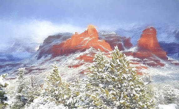 Sedona Snow by Dan Turner