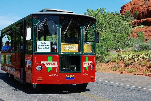 Sedona Trolley by Dany Lison