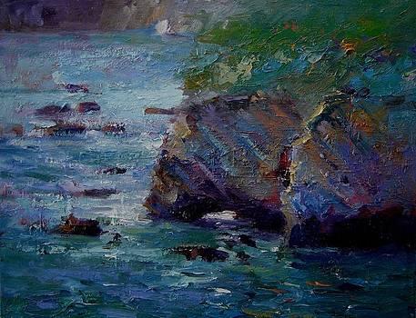 See blue sea arch by R W Goetting