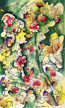 Seeds of Creation by Zuzana Vass