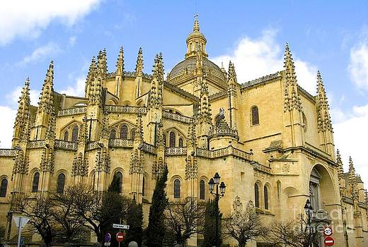 Segovia Cathedral by Don Kenworthy