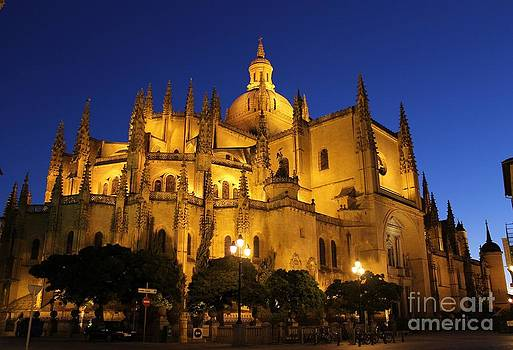 Segovia Cathedral by Ines Bolasini