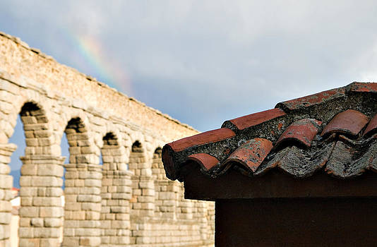 Segovia Roofs by Viacheslav Savitskiy