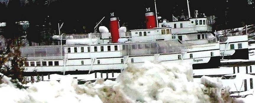 Gail Matthews - Segwun and Wenonah Steamships in Muskoka