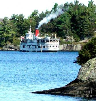 Gail Matthews - Segwun Steamship along the Fall Tour Route
