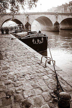 Seine River Barge by Joseph Walsh