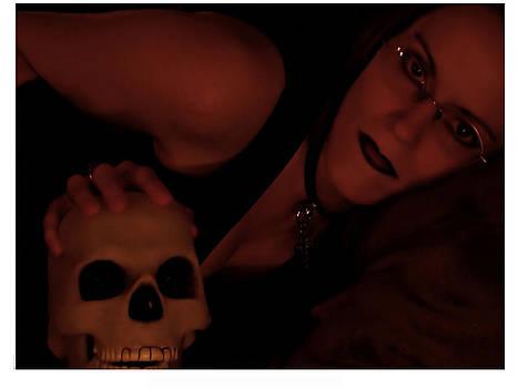 Selena and Skull face by Matt Nelson