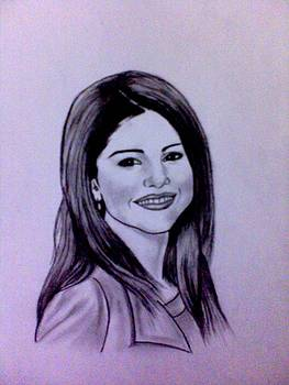 Selena Gomez by Mukul Dhankhar