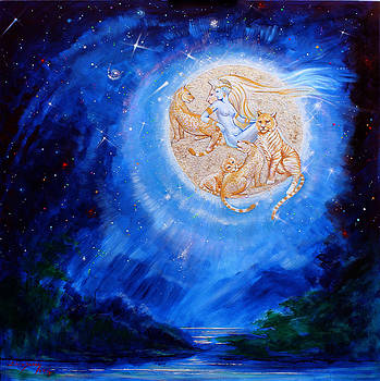 Silvia  Duran - Selene Moon Goddess