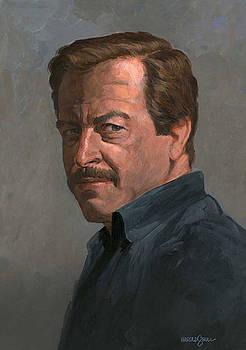 Self portrait 1984 by Harold Shull