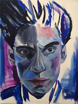 Self Portrait by Aaron Acker
