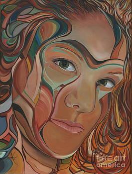 Self Portrait by Aimee Vance