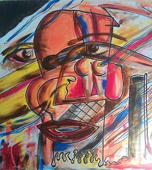 Self Portrait by Ari Meier