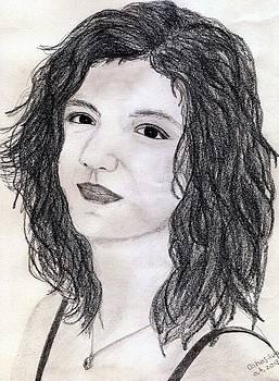 Self-portrait by Catia Silva